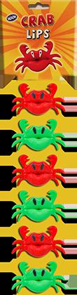 imagen display crab lips clip strip