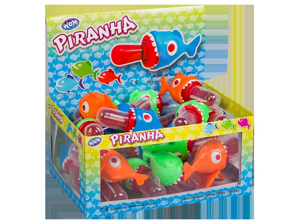 imagen de piranha aquarium display