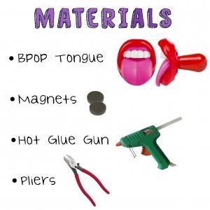 Bpop Tongue Magnet Materials