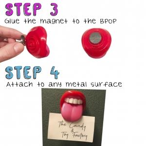 Bpop Tongue Magnet DIY