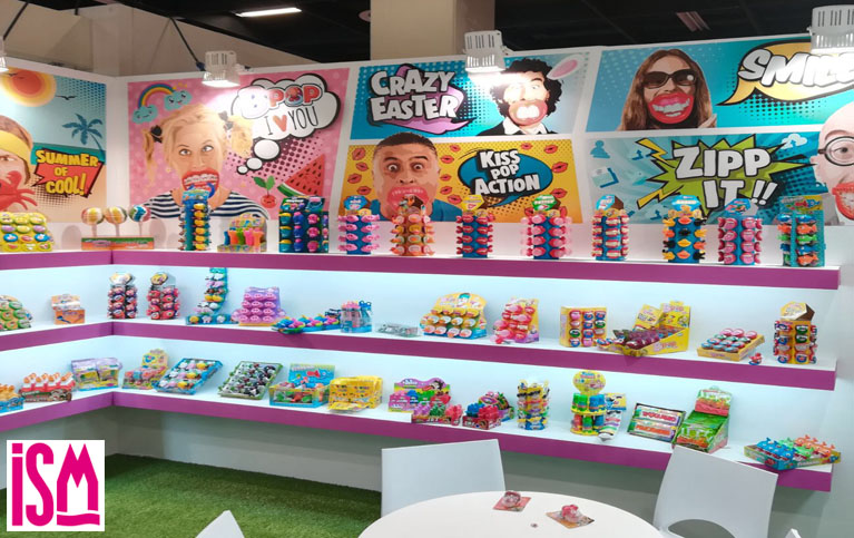 Stand ISM 2018 The Candy & Toy Factory
