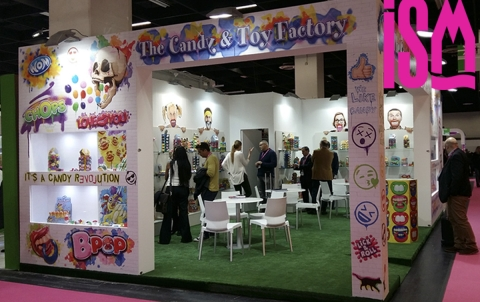 Stand ISM 2017 The Candy & Toy Factory