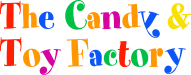 The Candy & Toy Factory Logo footer